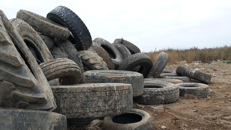 В октябре вологжане могут сдать старые покрышки на свалку на улице Мудрова