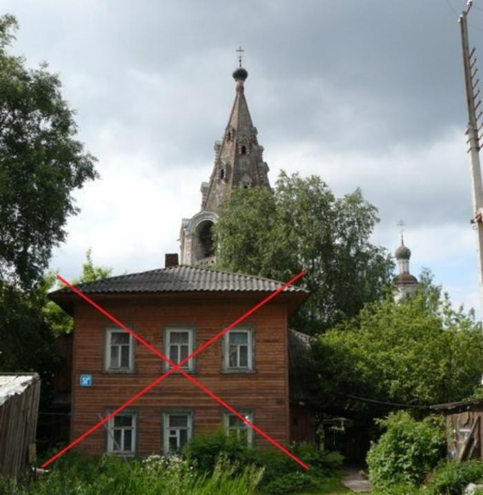 В Вологде сгорел еще один исторический дом