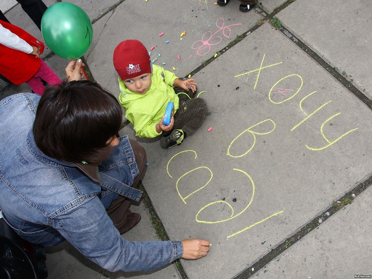 Очередь в детские сады Вологодской области сокращается, однако в основном для детей от 3 до 7 лет