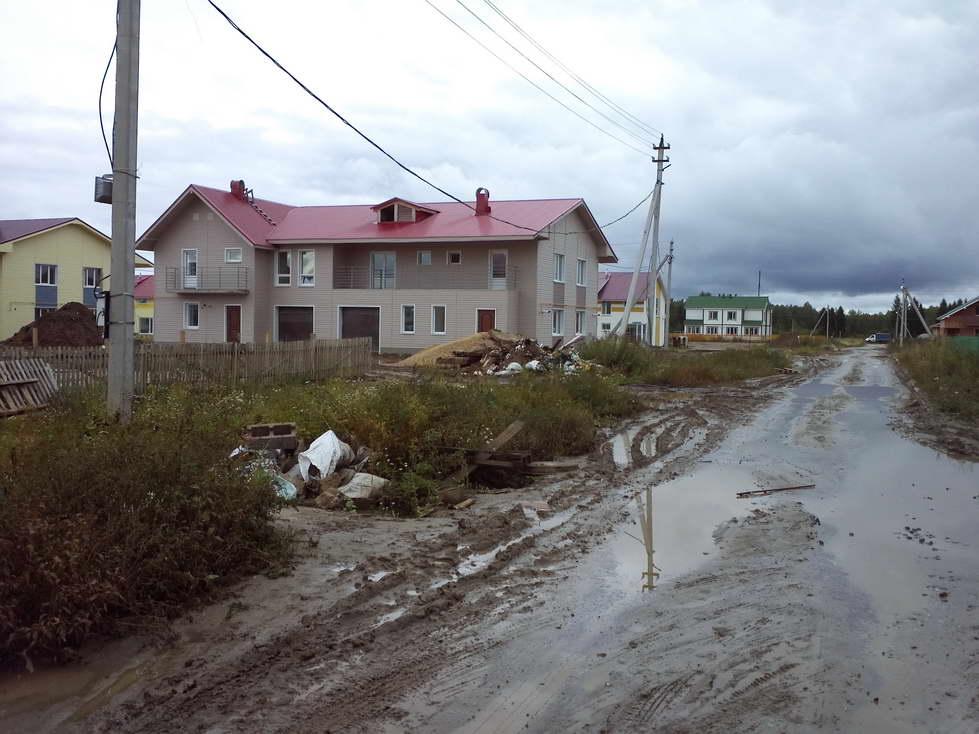 """Посёлку Марфино под Вологдой грозит """"засуха"""""""