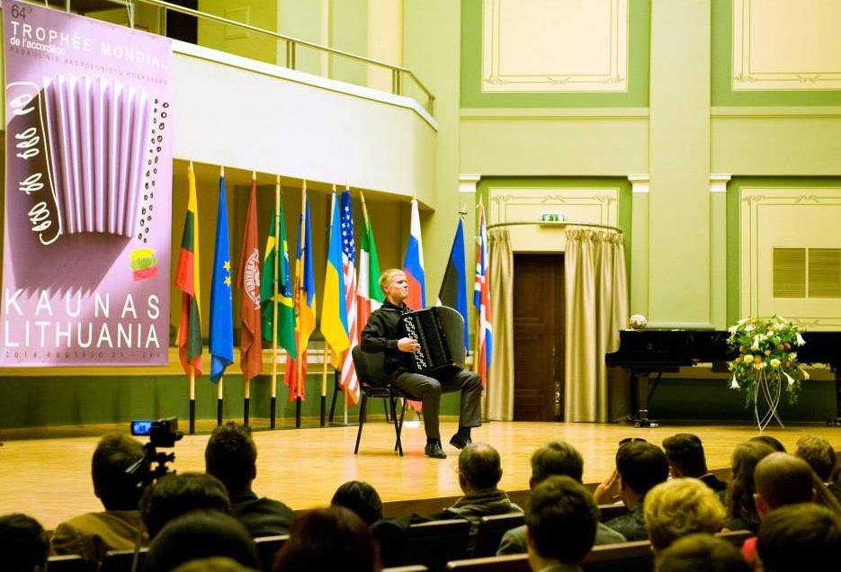 Студент Вологодского музыкального колледжа стал победителем международного конкурса «Трофей мира»