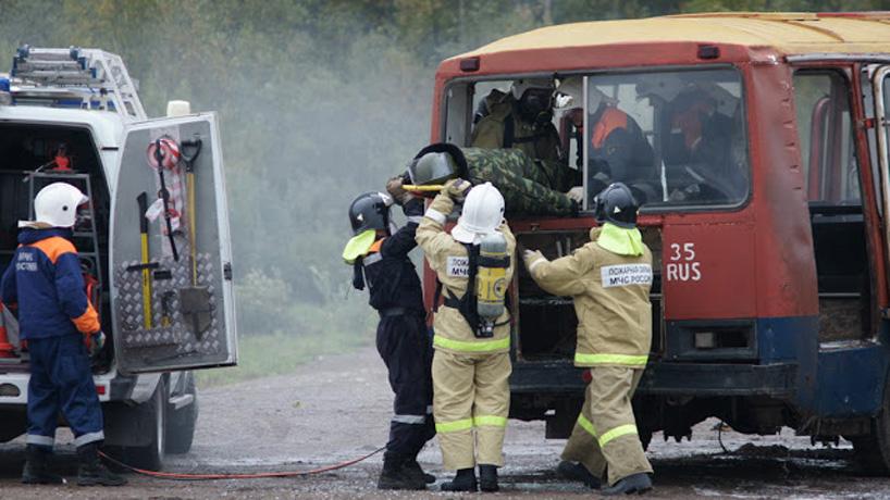 Дым без огня: в районе Бригантины в Вологде идут учения