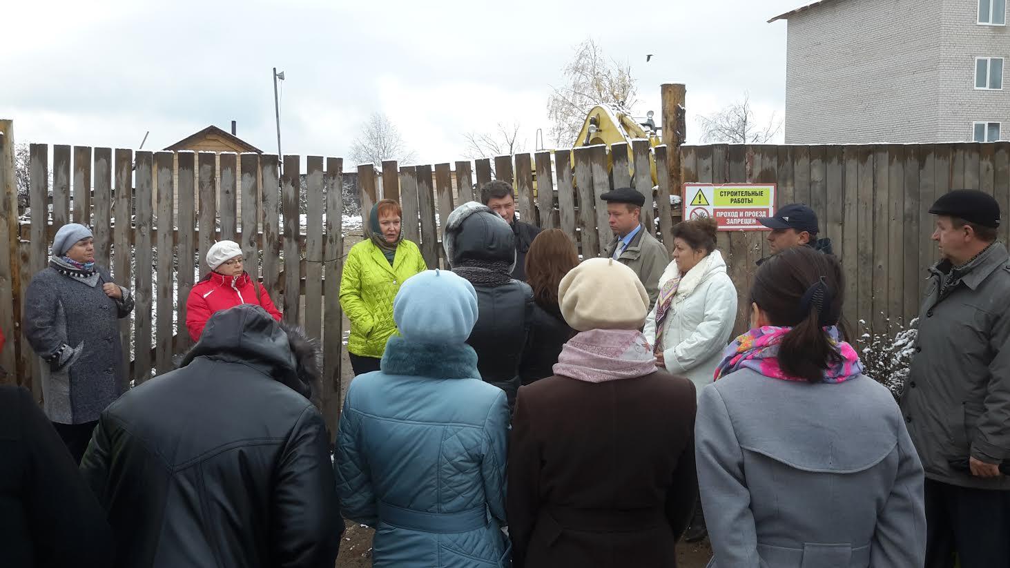 В Вологодской области застройщик перестал строить дом для погорельцев