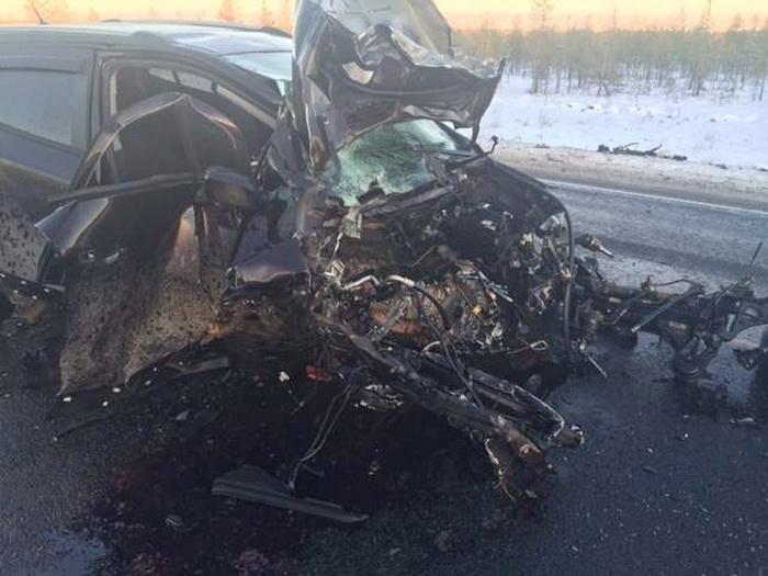 Два человека погибли в ДТП в Череповецком районе