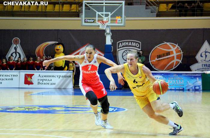 «Вологда-Чеваката» одержала первую победу в сезоне