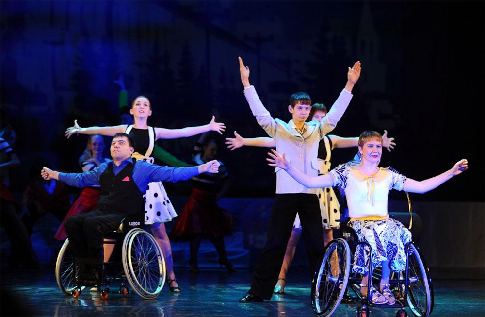 Дети-инвалиды выйдут на сцену Драматического театра