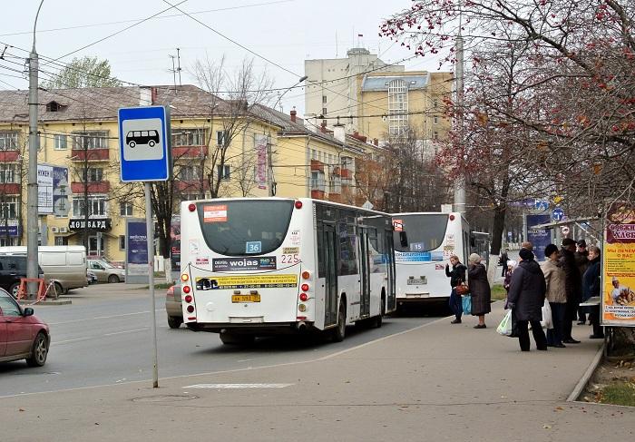 В администрации Вологды заверили, что сбои в графике автобусов устранены