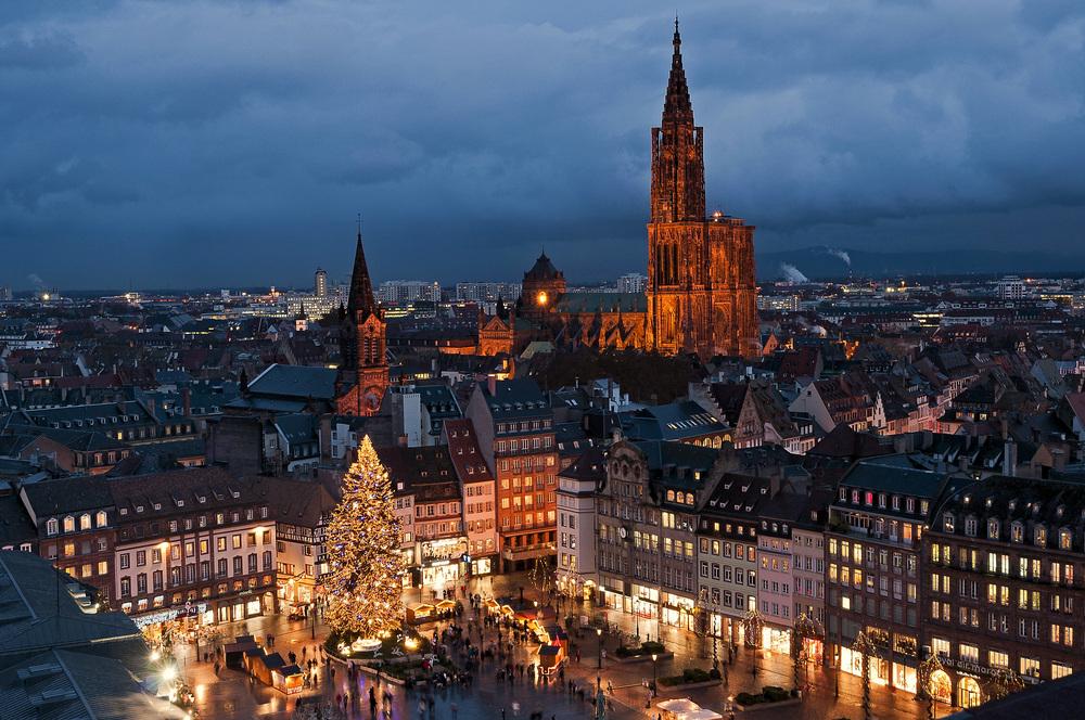 В Страсбурге появилась площадь Пляс де Вологда