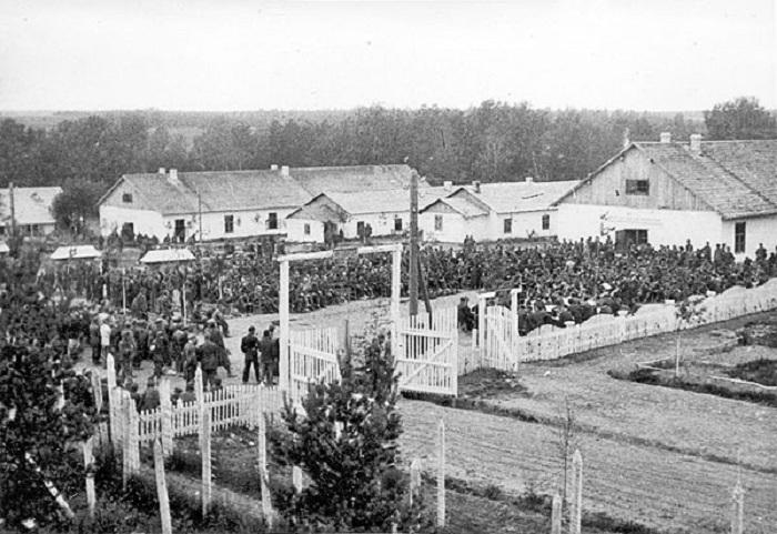 В Вологодской области откроется выставка фотографий из грязовецкого лагеря для военнопленных