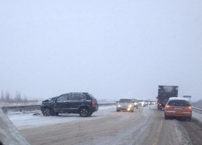В ДТП с КамАЗом на автодороге Грязовец-Вохтога погиб пассажир ВАЗа