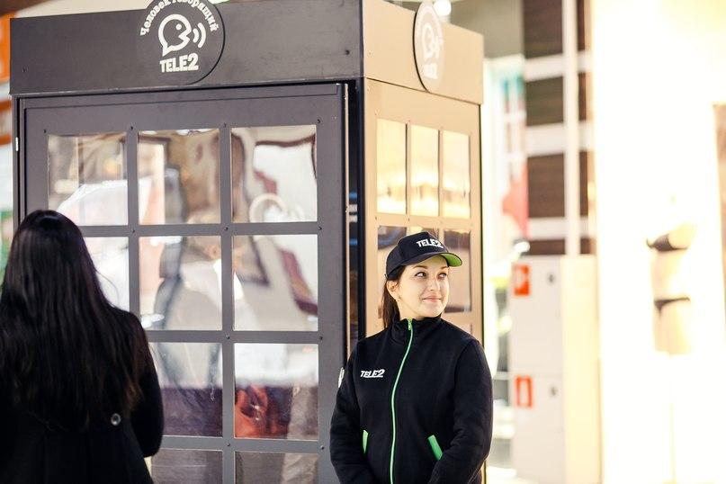 Более 400 звонков совершили вологжане из «Будки общения» Tele2