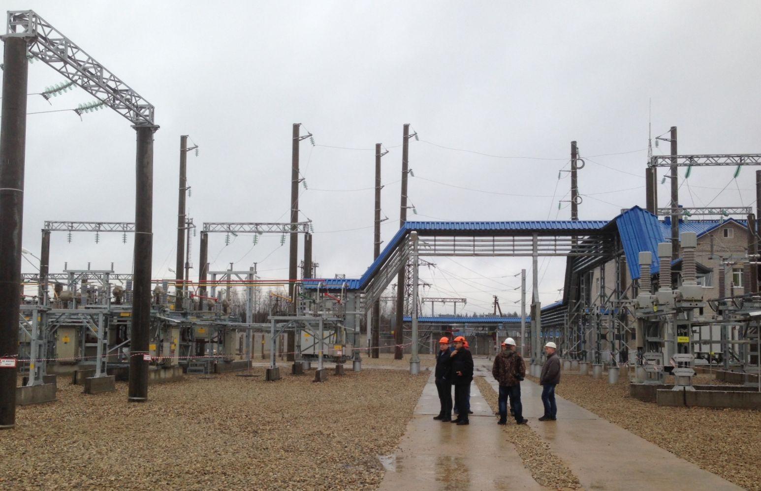 «Вологдаэнерго» ввёл в работу открытое распределительное устройство на подстанции в Нюксенском районе