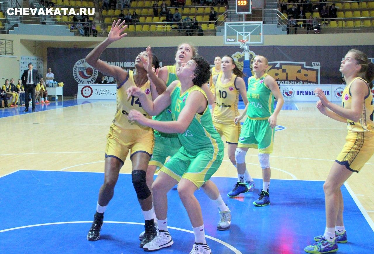 «Вологда - Чеваката» выиграла домашний матч в рамках Еврокубка