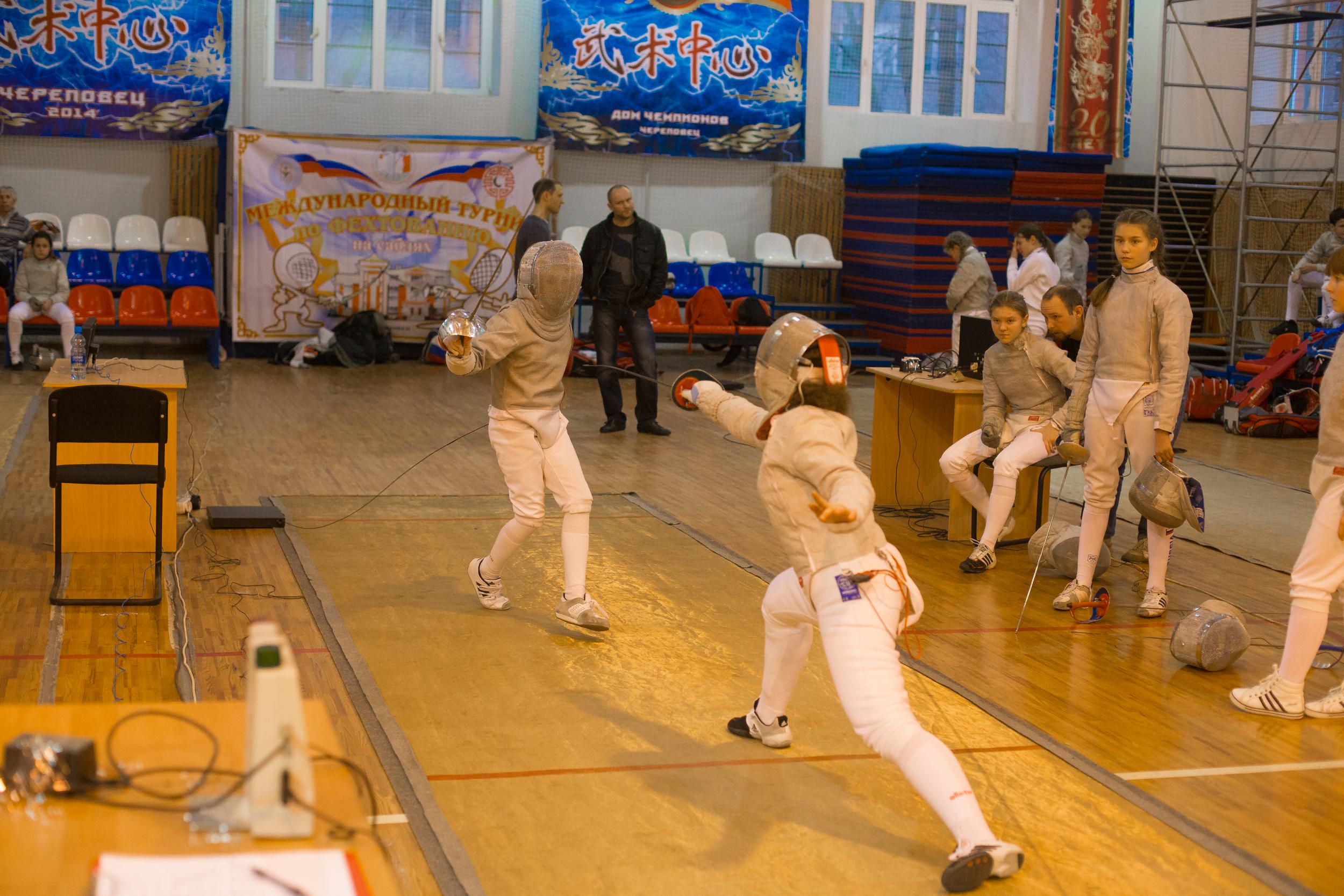 Череповецкая фехтовальщица завоевала «золото» домашнего турнира