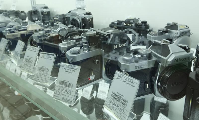 Вологжанин наворовал фотоаппаратов на 30 тысяч рублей