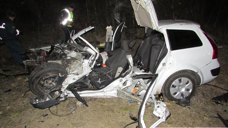 После в ДТП на трассе Вологда-Новая Ладога в больнице скончался водитель