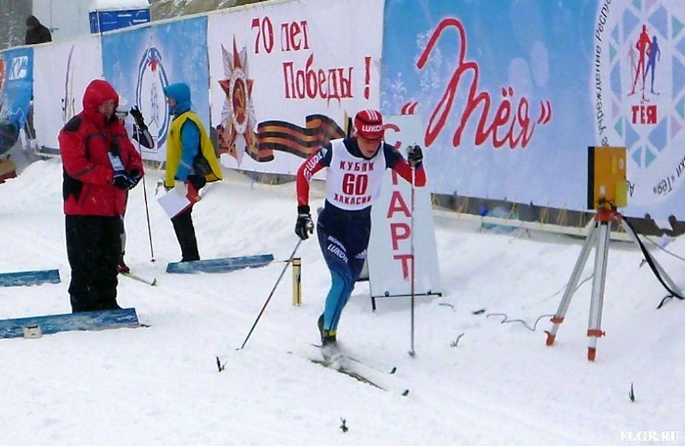 Вологодская лыжница Юлия Чекалева выиграла еще одну гонку в Хакасии