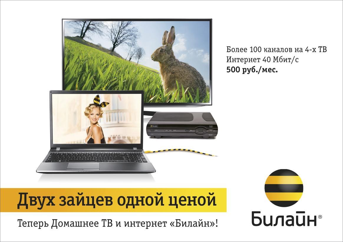 Домашнее цифровое телевидение «Билайн» теперь в Вологде