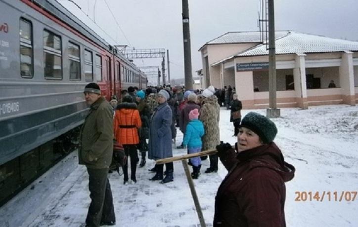 Вологжане собирают подписи за восстановление электричек Вологда-Вожега