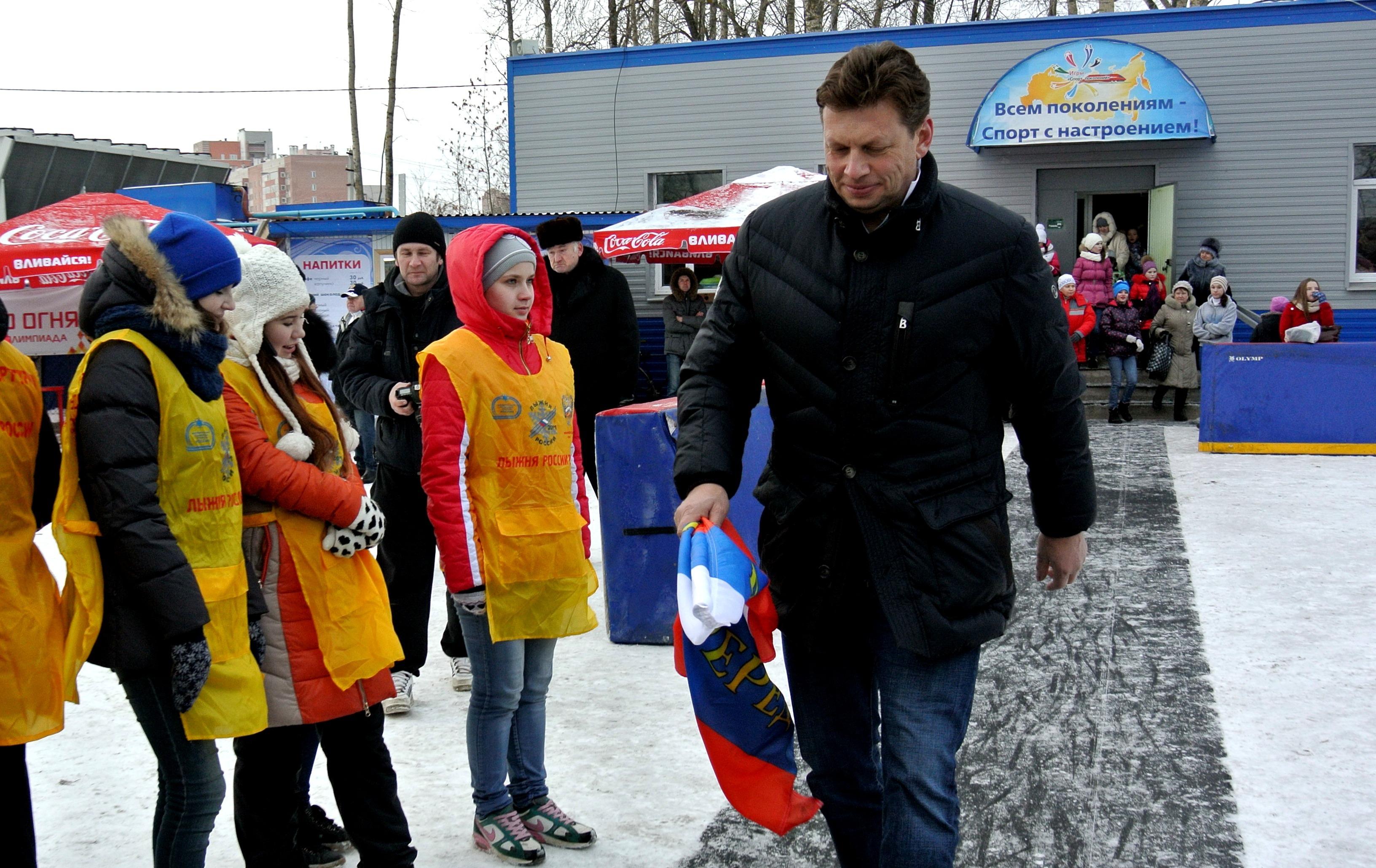 Олимпийский чемпион Николай Гуляев открыл всероссийские соревнования в Вологде