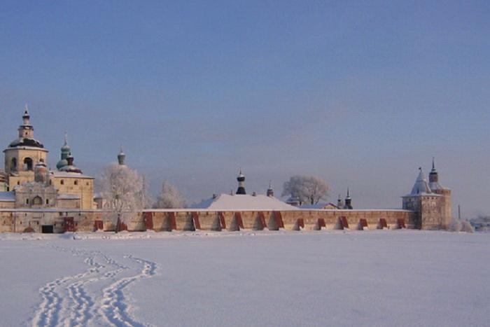 Крепостные стены Кирилло-Белозерского монастыря будут открыты до Нового года
