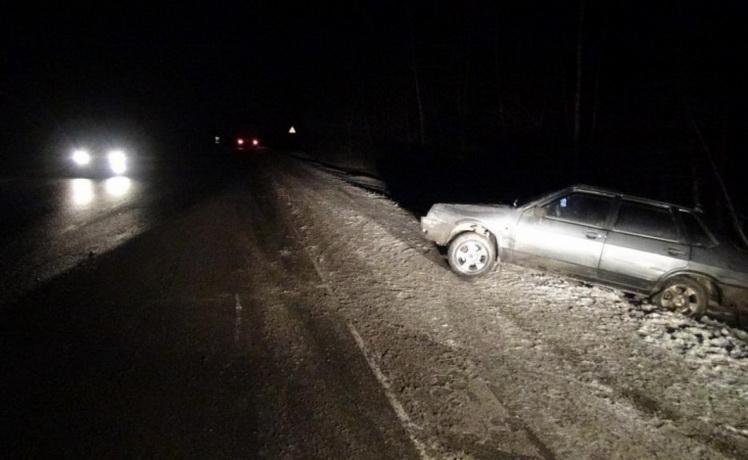 На трассе Вологда-Новая Ладога женщина-водитель допустила столкновение с 4 автомобилями