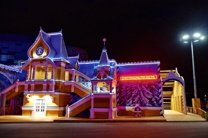 Сочинскую резиденцию Деда Мороза возводят в Вологде