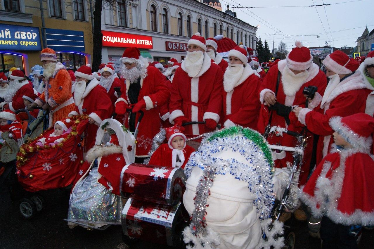 Дед Мороз из Великого Устюга принял участие в НаШествии Дедов Морозов