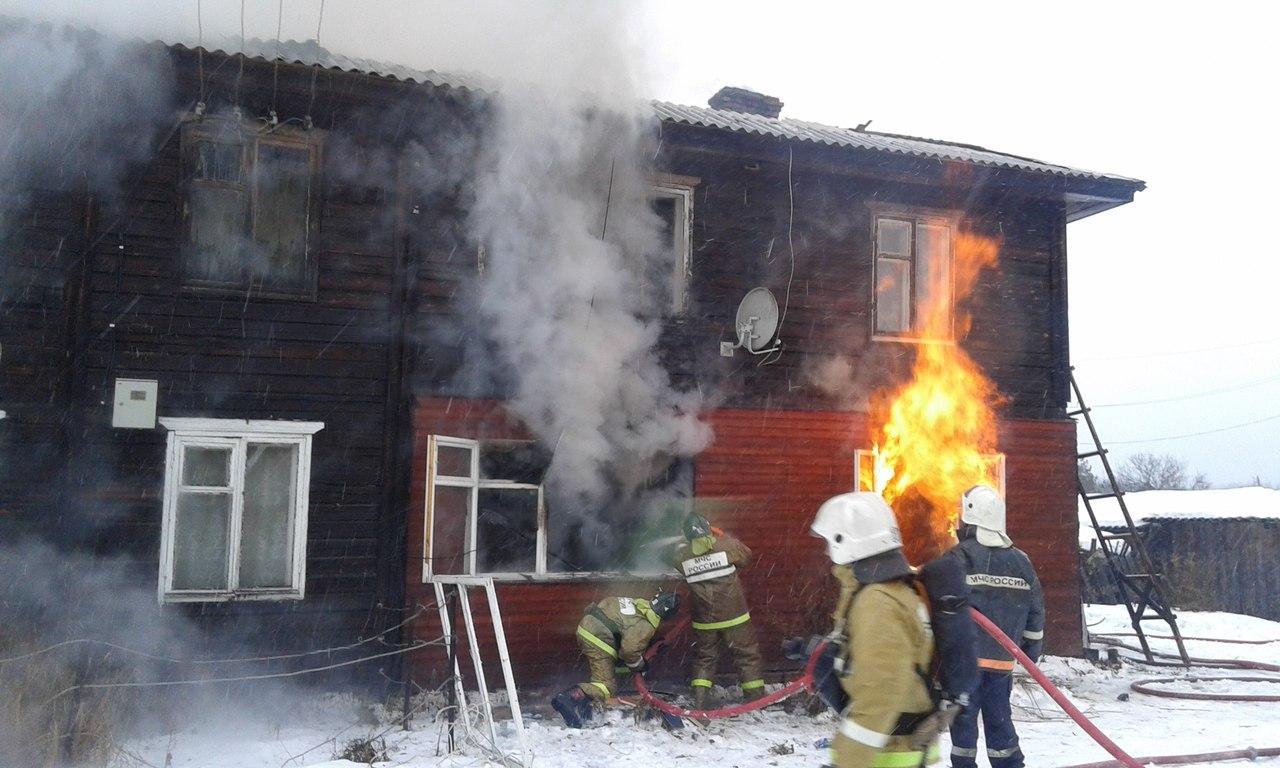 В ходе застолья вологжане сожгли съёмную квартиру