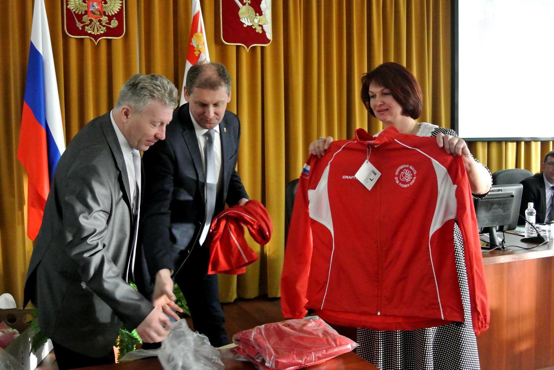Новую форму для спортивных команд области презентовали в Вологде