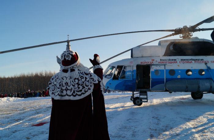 Дед Мороз дал старт новогодним праздникам в Вологде