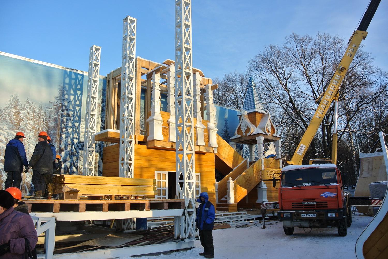 Сроки презентации Олимпийской резиденции Деда Мороза в Вологде опять перенесли