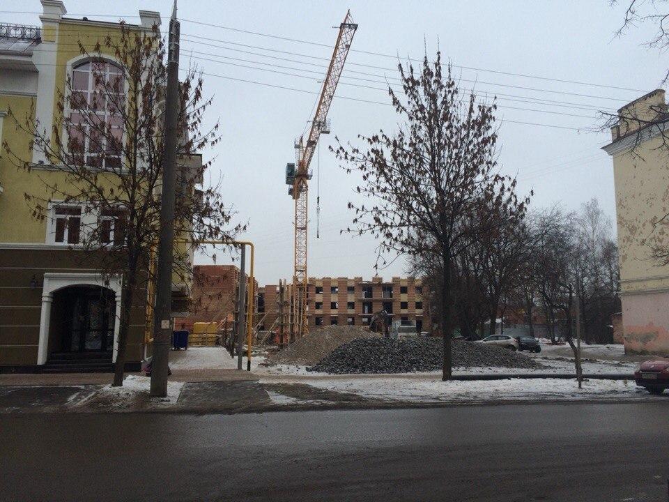 В Вологде пытаются не допустить высотной стройки на Благовещенской