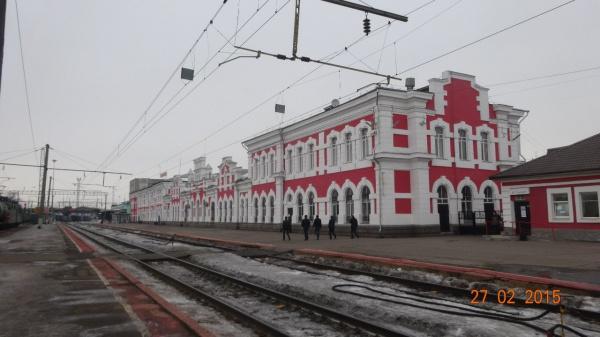Вологда. Железнодорожный вокзал: 1986 и 2015