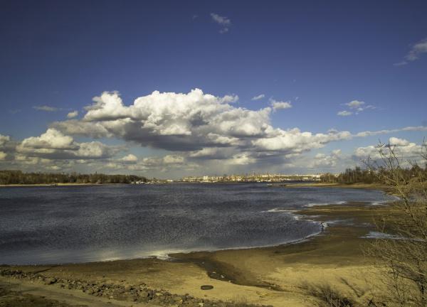 Бестолковое решение очистки берегов реки Шексны