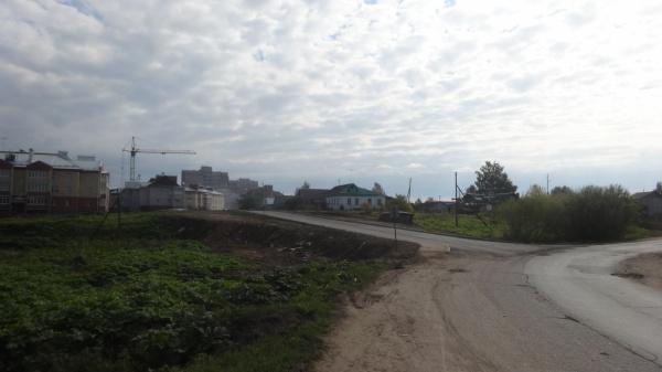 Осановский проезд: дорога плохая и не хватает тротуара