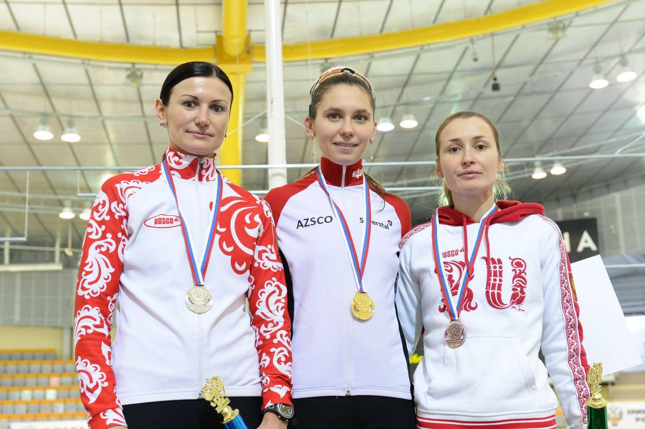 Спортсменка из Череповца выиграла Чемпионат России по конькобежному спорту
