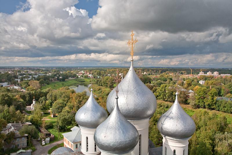 Вологодская область попросила софинансирование на работы по возвращению креста на Софийский собор