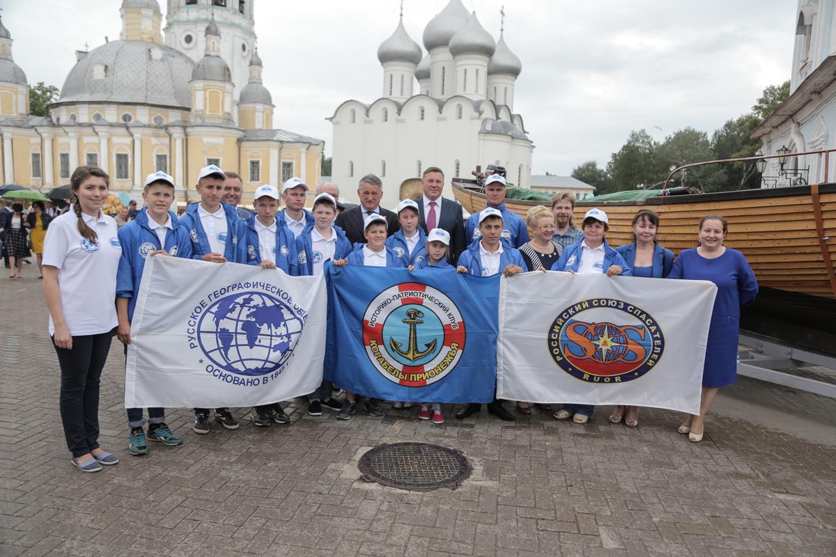 Воспитанники клуба  «Корабелы Прионежья» отправились в экспедицию по Сухоне