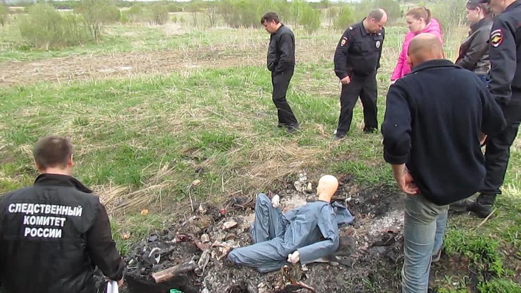 Житель вологодской деревни сжег соседа и закопал в огороде