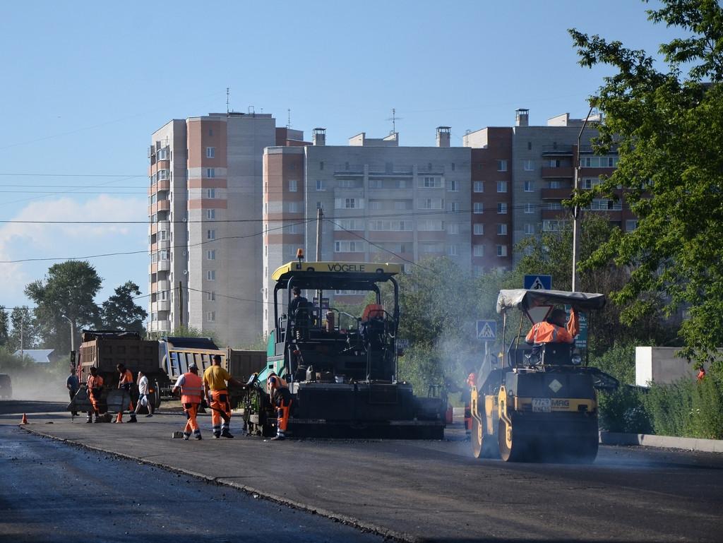 Улицы Карла Маркса и Фрязиновскую в Вологде отремонтируют к августу