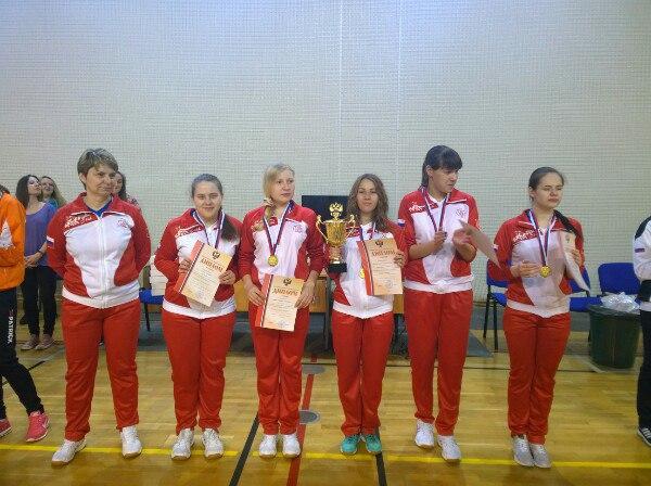Вологодские голболистки выиграли Чемпионат России