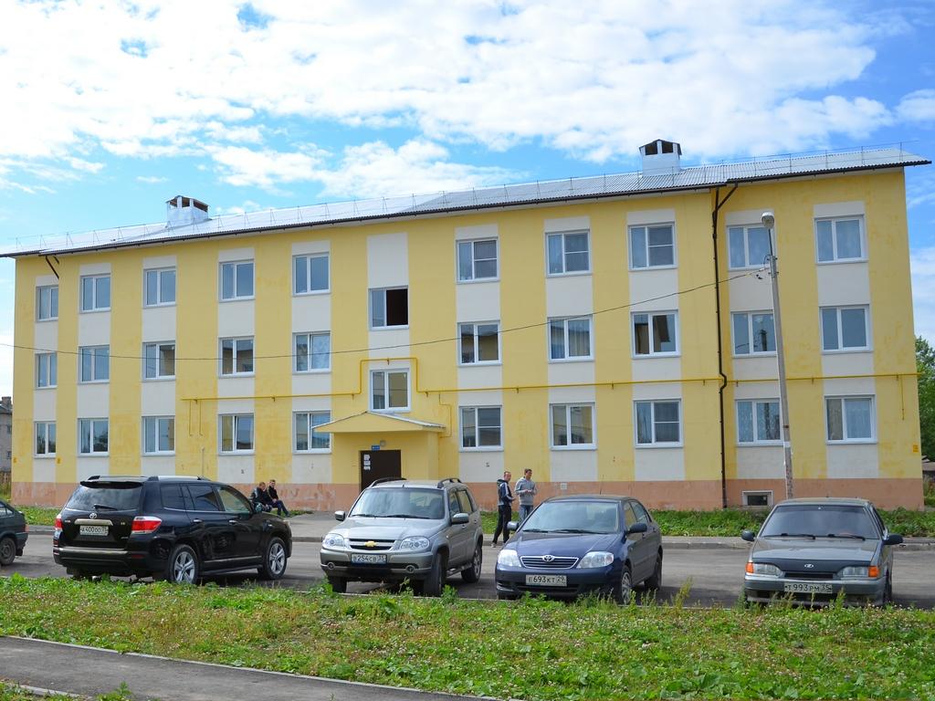 Дома на улице Колхозной в Вологде заселят к Новому году