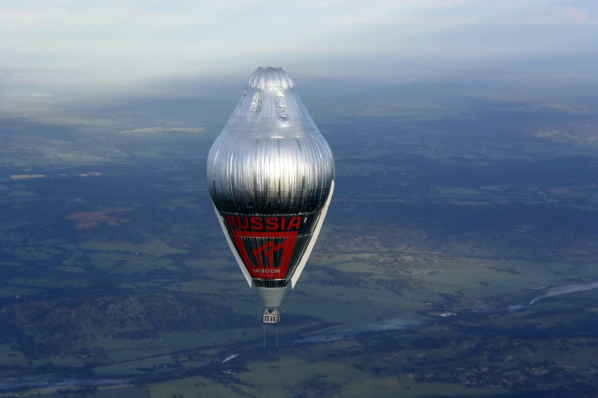 Федор Конюхов отправился вокруг света на воздушном шаре