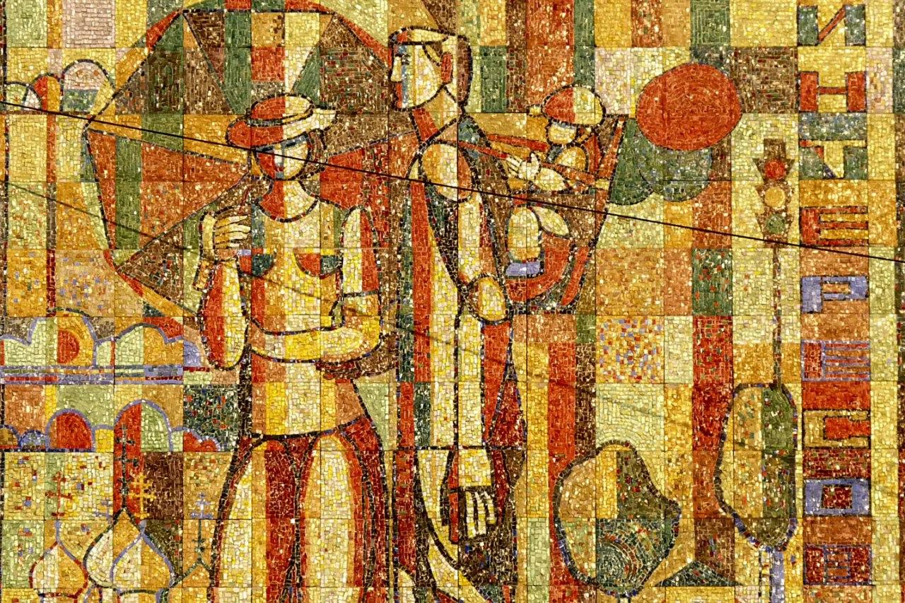 Soviet art: Выставка монументальной живописи в Вологде
