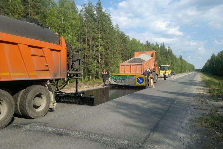 100 км трассы Вологда–Медвежьегорск–«Кола» отремонтируют за полмиллиарда рублей