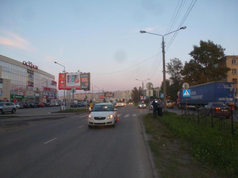 В Великоустюгском районе сбили пешехода: женщина находится в коме