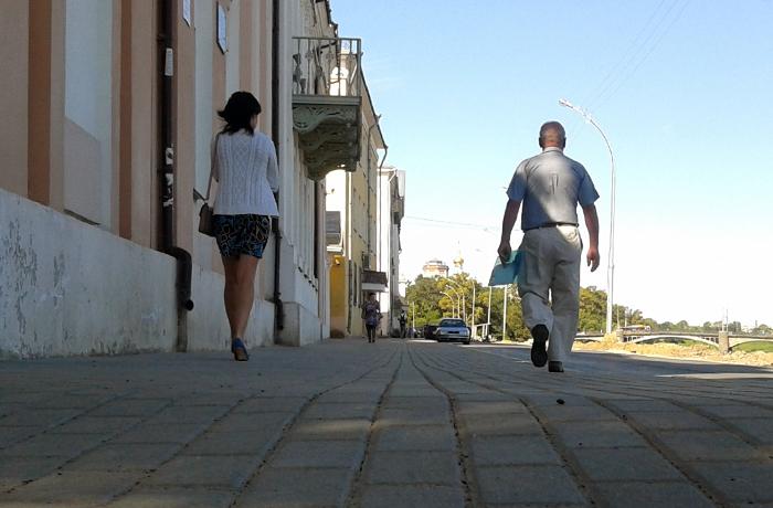 Еще на двух участках набережных в Вологде появятся хорошие тротуары