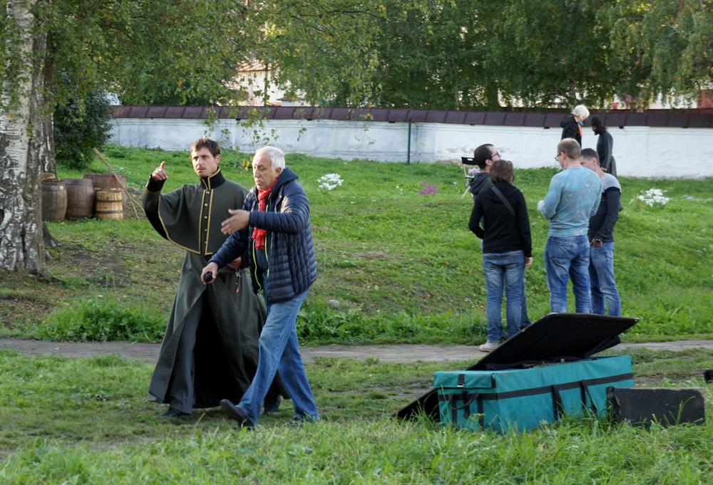 Съемки фильма Николая Досталя стартовали в Кирилло-Белозерском музее-заповеднике
