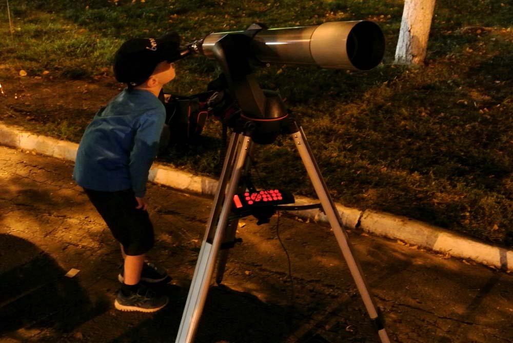 К телескопам в Вологде выстроилась очередь